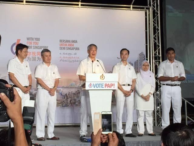 Bầu cử Singapore: PAP giành thắng lợi với 83 ghế trong Quốc hội