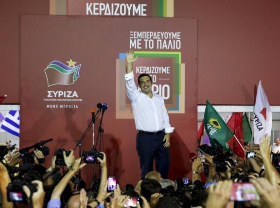 Kết quả bầu cử Hy Lạp: Đảng Syriza giành chiến thắng