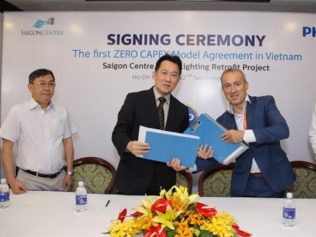 Royal Philips và Keppel Land hợp tác về chiếu sáng LED tại Việt Nam
