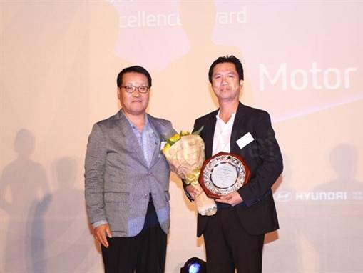 """Nam Việt Motor nhận giải thưởng """"Nhà phân phối xe thương mại tốt nhất toàn cầu"""""""