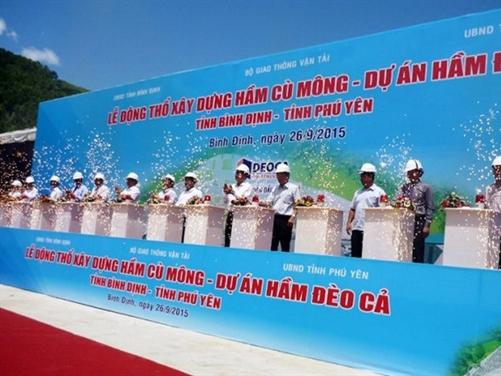 Gần 4.000 tỷ đồng xây hầm Cù Mông - dự án hầm Đèo Cả