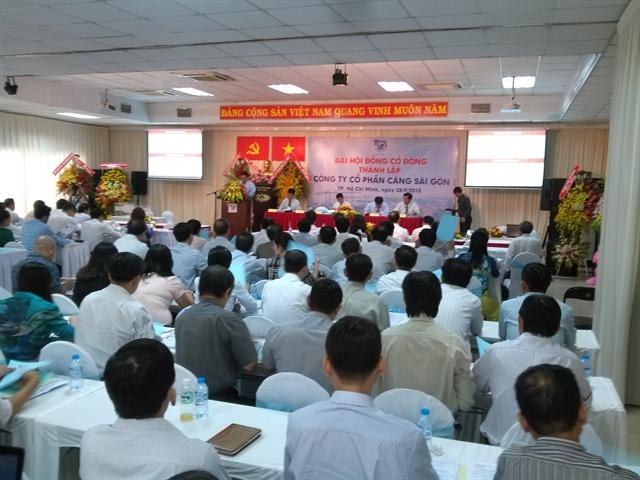 ĐHCĐ Cảng Sài Gòn: NĐT chiến lược Vietinbank nắm 9,07%, VPBank nắm 7,44% vốn điều lệ