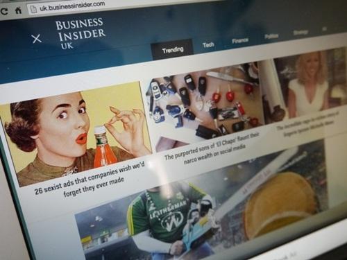 Hãng truyền thông Đức mua Business Insider
