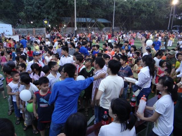 Đoàn thanh niên Bệnh viện quận Tân Bình tổ chức đêm