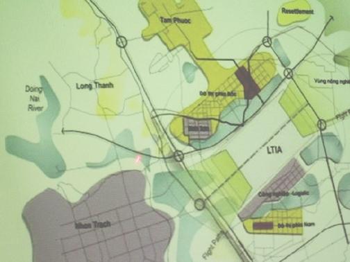 Đồng Nai quy hoạch khu vực phụ cận sân bay Long Thành