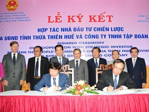 Thừa Thiên Huế hợp tác chiến lược với Bitexco