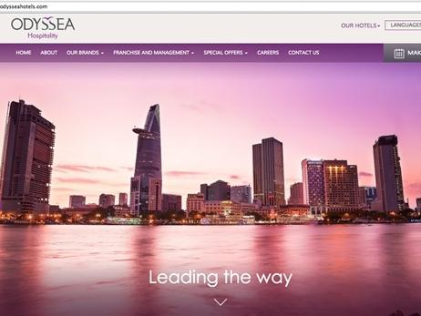 Odyssea Hospitality chính thức ra mắt trang web mới