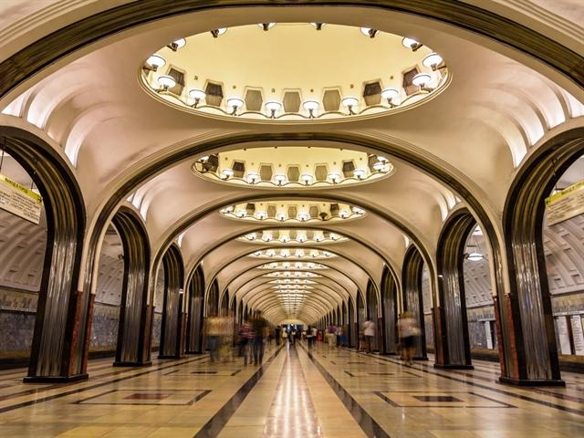 17 nhà ga tàu điện ngầm đẹp nhất thế giới