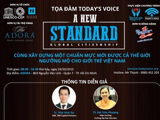 Xây dựng chuẩn mực mới cho thế hệ trẻ Việt