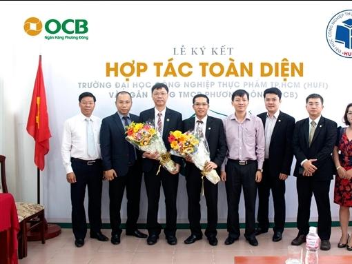 OCB ký kết hợp tác với trường Đại học Công nghiệp Thực phẩm TPHCM