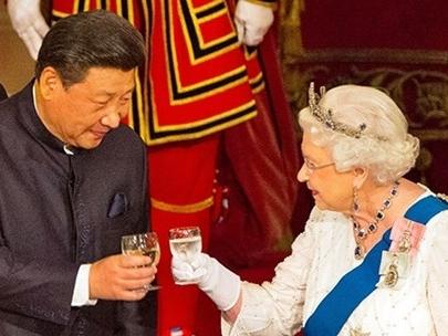 Ông Tập sang Anh với 30 tỉ bảng