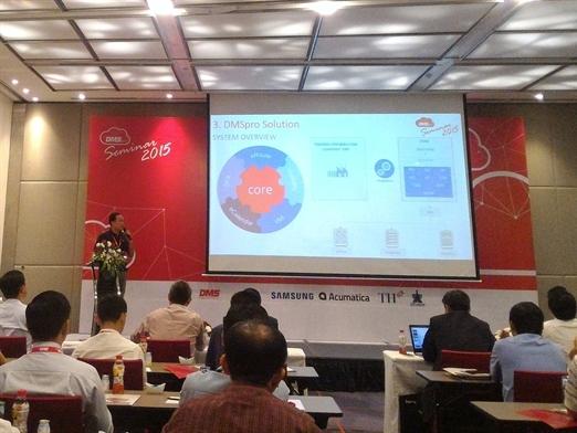 DMSpro giới thiệu giải pháp công nghệ trong bán hàng