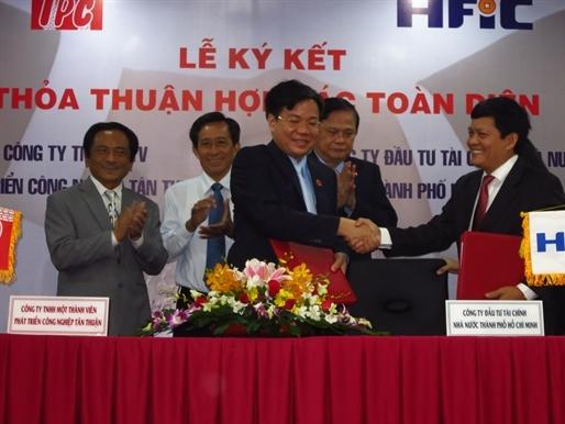 HFIC và IPC ký kết hợp tác toàn diện