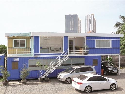 Nhà container: Lối mới cho đầu tư bất động sản?