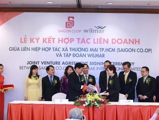 Saigon Co.op thành lập liên doanh Nam Dương với tập đoàn Singapore