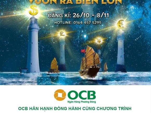OCB đồng hành cùng chương trình