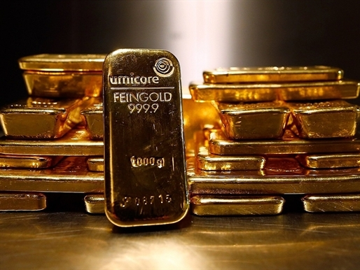 Giá vàng tăng nhẹ, chấm dứt chuỗi giảm 8 phiên liên tục