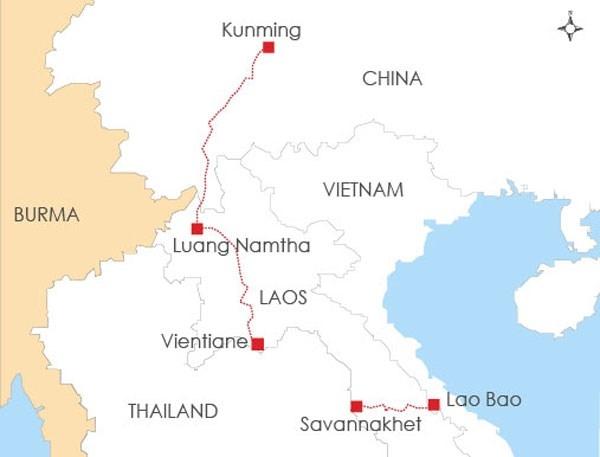 Sắp khởi công tuyến đường sắt nối Lào-Trung Quốc