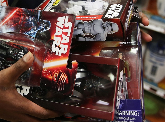 Thị trường đồ chơi bùng nổ nhờ phim