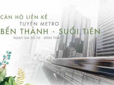 Lavita Garden: dự án liền kề tuyến metro đầu tiên tại TPHCM
