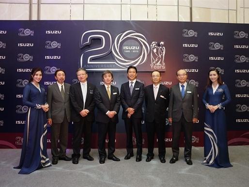 ISUZU Việt Nam - Kỷ niệm 20 năm thành lập