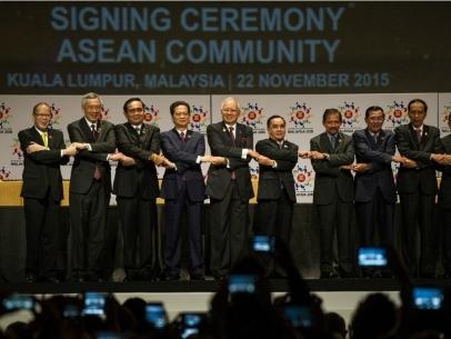 ASEAN chính thức thành lập cộng đồng kinh tế