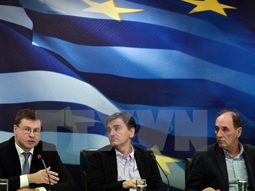 Eurogroup giải ngân khoản cứu trợ 2 tỷ euro dành cho Hy Lạp