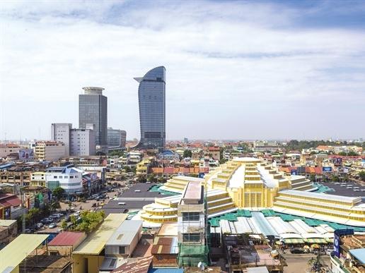 Bùng nổ bất động sản tại Campuchia