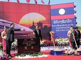 Trung Quốc khởi công xây dựng tuyến đường sắt tại Lào