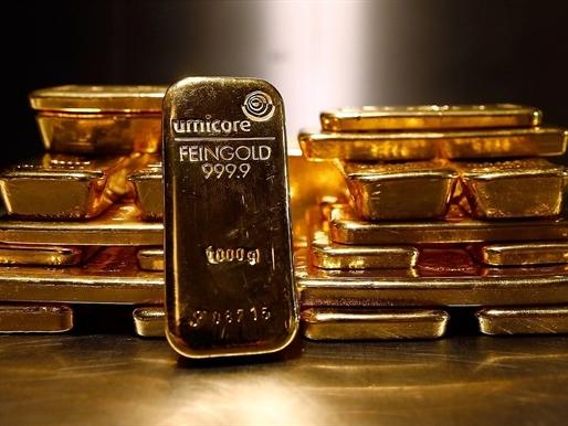 Giá vàng lại bắt đáy 6 năm sau bình luận của Chủ tịch Fed
