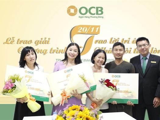 OCB: Ấm tình lễ trao giải