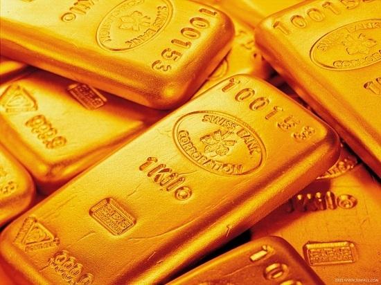 Giá vàng thoát đáy 1 tuần do USD suy yếu