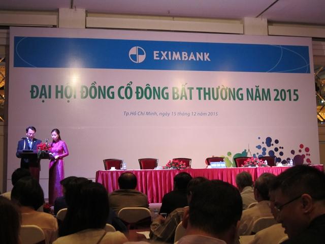Cổ đông Eximbank thông qua phương án nhân sự HĐQT, BKS nhiệm kỳ mới