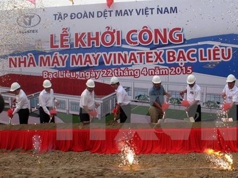 Vinatex đầu tư hơn 1.000 tỷ đồng xây chuỗi cung ứng dệt may
