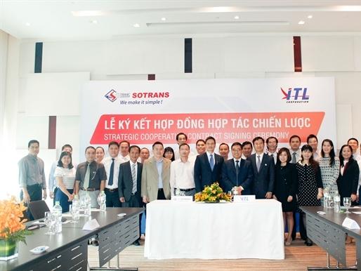 Sotrans và ITL ký hợp tác chiến lược