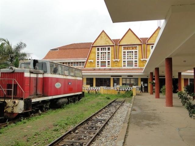 Đề xuất nhượng quyền khai thác tuyến đường sắt Đà Lạt-Trại Mát