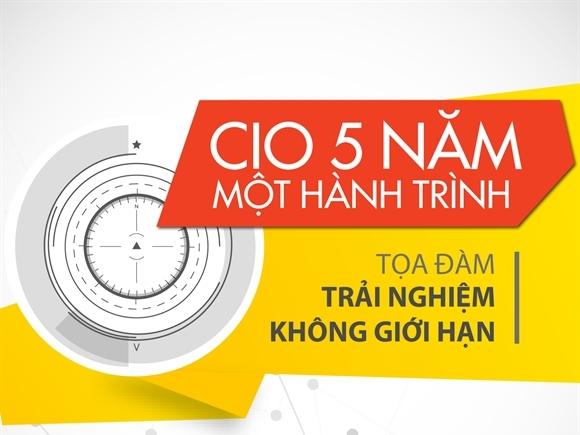 CIO Việt Nam - 5 năm, một hành trình