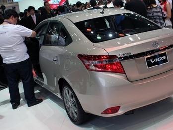 Toyota triệu hồi hơn 3.800 xe Vios vì lỗi túi khí