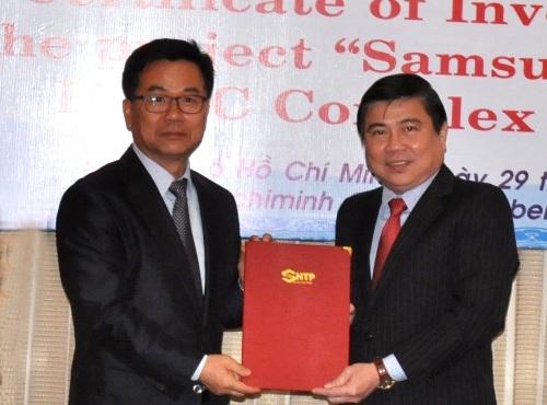 Samsung đầu tư thêm 600 triệu USD vào TPHCM