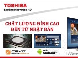 Toshiba ra mắt máy điều hòa Daiseikai