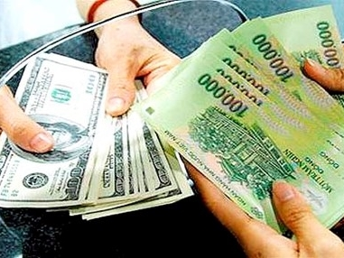 Tỷ giá trung tâm ở mức 21.896 đồng trong ngày đầu theo cơ chế mới