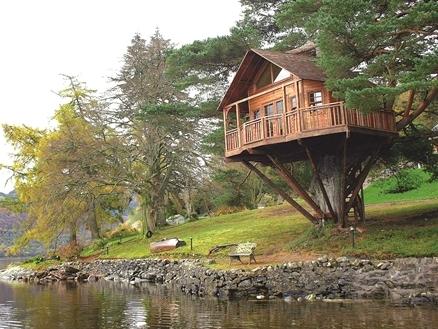 """Xu hướng du lịch mới: Chơi """"ngông"""" với nhà trên cây"""