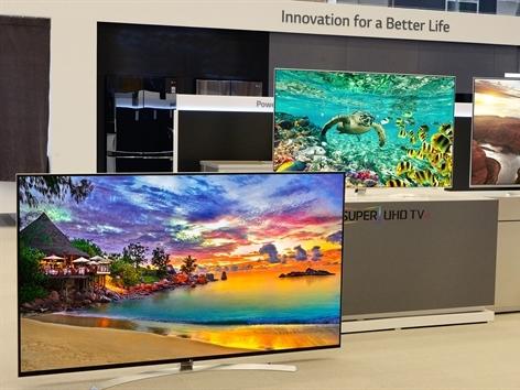 Loạt sản phẩm TV Super UHD của LG gây ấn tượng tại triển lãm CES 2016