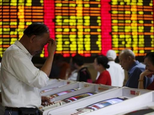 Chứng khoán Trung Quốc lại ngừng giao dịch