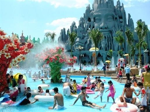 Công viên nước Đầm Sen đạt doanh thu 172 tỷ đồng năm 2015