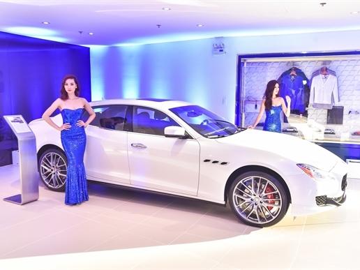 Maserati khai trương showroom chính hãng đầu tiên