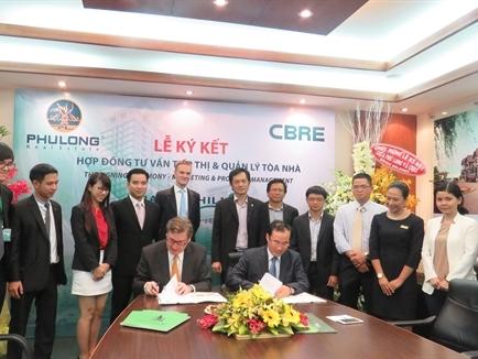 Công ty Phú Long chỉ định CBRE tiếp thị và quản lý Khu căn hộ cao cấp Dragon Hill Residence and Suites 2
