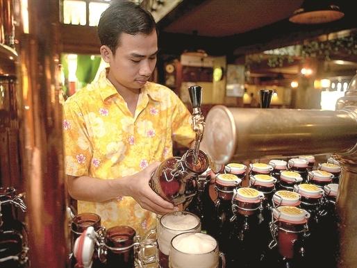 Mô hình kinh doanh bia tươi cho Tây balô tăng trưởng mạnh