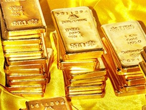 Vàng lên ngôi sau khi chứng khoán bốc hơi 15 nghìn tỷ USD