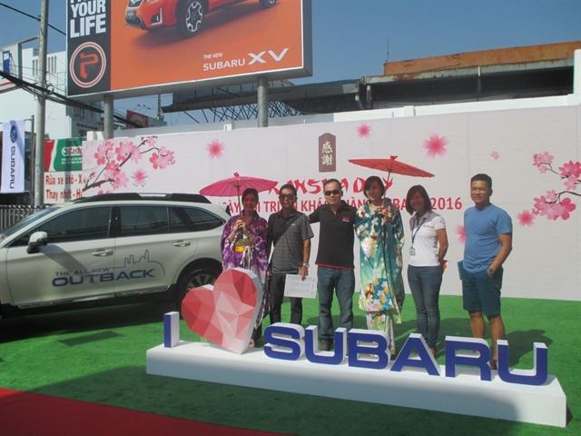 Ngày hội KANSHA lần đầu tiên được SUBARU giới thiệu tại Việt Nam